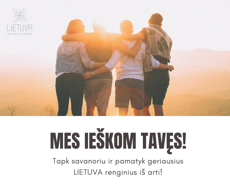 """Tapk savanoriu ansamblio """"Lietuva"""" renginiuose!"""