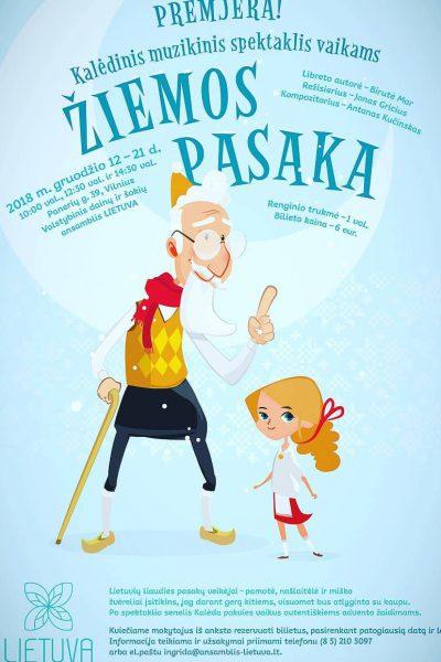 Žiemos pasaka (plakatas)