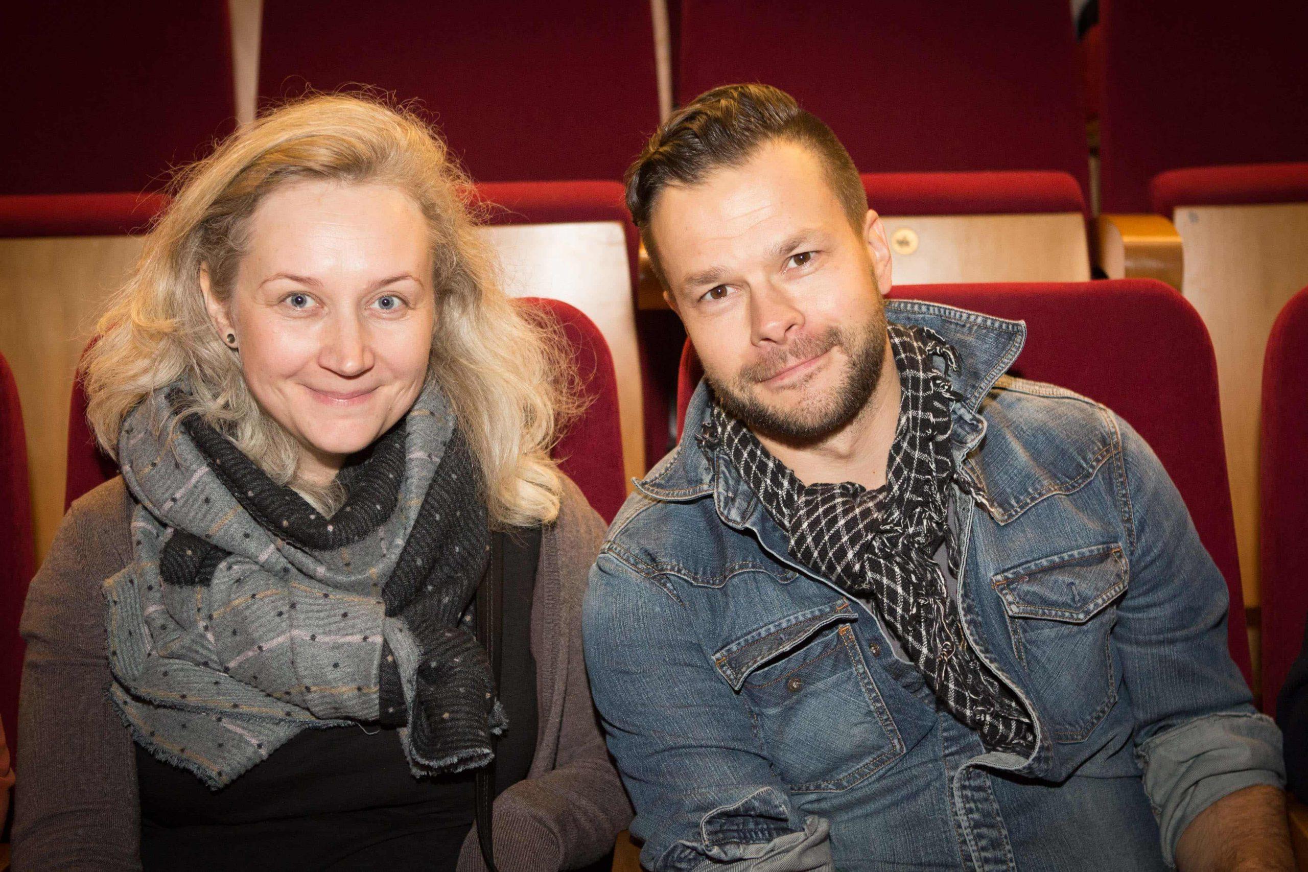 Jokūbas Bareikis su žmona_M. Siruso nuotr.
