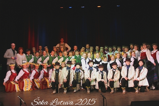 """Vaikų liaudies šokių konkursas """"Šoka Lietuva 2017"""""""