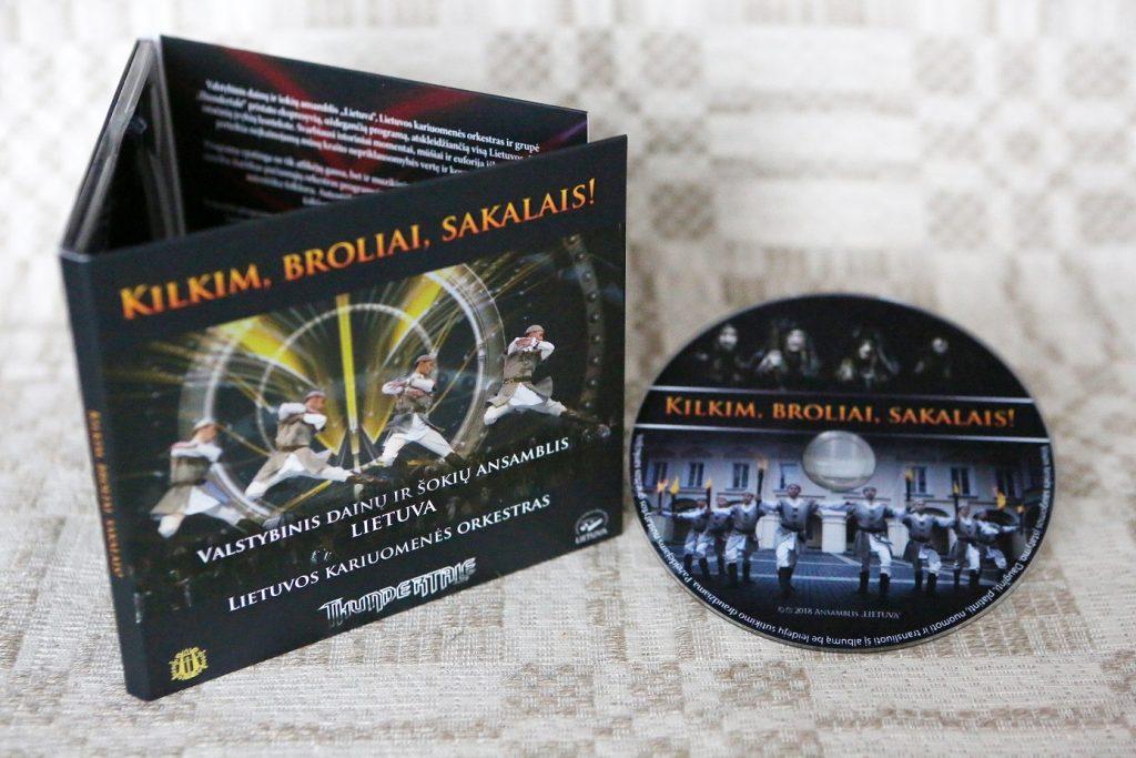 """Naujas CD """"Kilkim, broliai, sakalais!"""""""